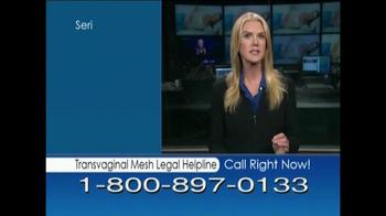 Avram Blair & Associates TV Spot, 'Transvaginal Mesh Legal Helpline' - Thumbnail 4