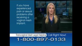Avram Blair & Associates TV Spot, 'Transvaginal Mesh Legal Helpline' - Thumbnail 9