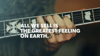 Guitar Center TV Spot, 'The Greatest Feeling on Earth' Feat. James Hetfield - Thumbnail 10