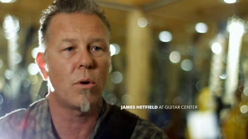 Guitar Center TV Spot, 'The Greatest Feeling on Earth' Feat. James Hetfield - Thumbnail 5