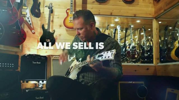 Guitar Center TV Spot, 'The Greatest Feeling on Earth' Feat. James Hetfield - Thumbnail 9