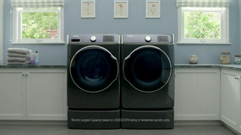 Samsung 9100 Series Washing Machine TV Spot, 'The T-Shirt' - Thumbnail 10