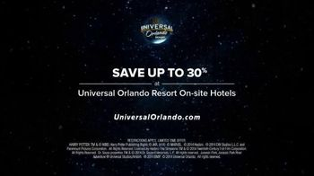 Universal Orlando Resort TV Spot, 'Your Vacation Is Here: Save Up to 30 Percent Off' Song by Teddybears - Thumbnail 9