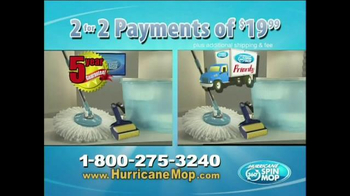 Hurricane 360 Spin Mop TV Spot - Thumbnail 7
