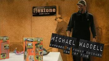 Flextone Funky Chicken Decoy TV Spot, \'First Time\' Feat. Michael Waddell