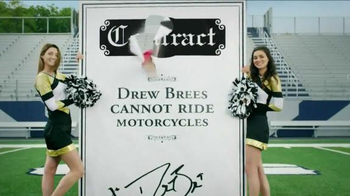 Can Am Spyder TV Spot, 'Rebates' Featuring Drew Brees - Thumbnail 2