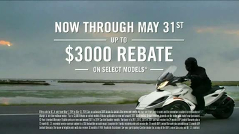 Can Am Spyder TV Spot, 'Rebates' Featuring Drew Brees - Thumbnail 8