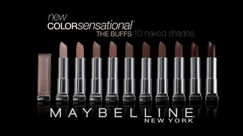 Maybelline New York Color Sensational The Buffs TV Spot, 'Naked or Nothing' - Thumbnail 10
