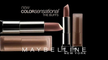 Maybelline New York Color Sensational The Buffs TV Spot, 'Naked or Nothing' - Thumbnail 3