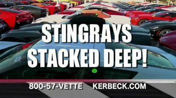 Kerbeck Corvette TV Spot, 'Stingrays Stacked Deep'