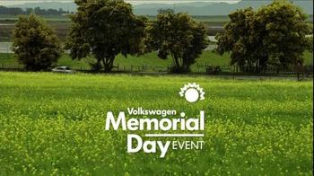 Volkswagen TV Spot, 'Memorial Day Event' - Thumbnail 1