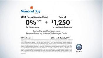 Volkswagen TV Spot, 'Memorial Day Event' - Thumbnail 9