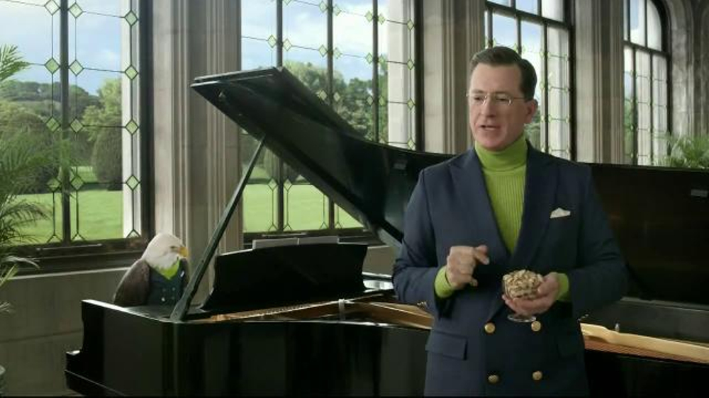 Wonderful Pistachios TV Commercial, 'National Nut' Featuring Stephen Colbert