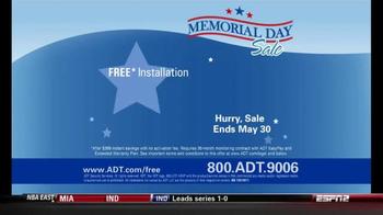 ADT TV Spot, 'Memorial Day Sale' - Thumbnail 10