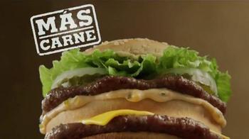 Burger King Big King TV Spot, 'Dos por $5: Más Carne' [Spanish] - Thumbnail 1