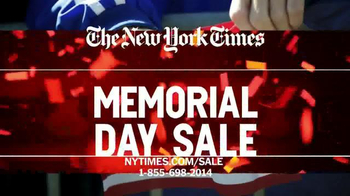 The New York Times Memorial Day Sale TV Spot, 'Experience the Times' - Thumbnail 10