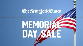 The New York Times Memorial Day Sale TV Spot, 'Experience the Times' - Thumbnail 2