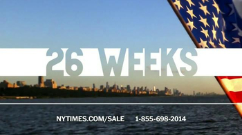 The New York Times Memorial Day Sale TV Spot, 'Experience the Times' - Thumbnail 3