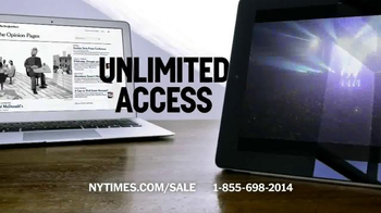 The New York Times Memorial Day Sale TV Spot, 'Experience the Times' - Thumbnail 4