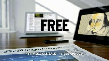 The New York Times Memorial Day Sale TV Spot, 'Experience the Times' - Thumbnail 5