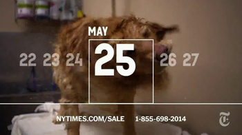 The New York Times Memorial Day Sale TV Spot, 'Experience the Times' - Thumbnail 7