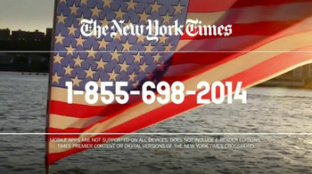 The New York Times Memorial Day Sale TV Spot, 'Experience the Times' - Thumbnail 8