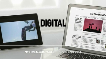The New York Times Memorial Day Sale TV Spot, 'Experience the Times' - Thumbnail 9