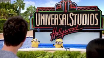 Universal Studios Hollywood Despicable Me Minion Mayhem Ride TV Spot