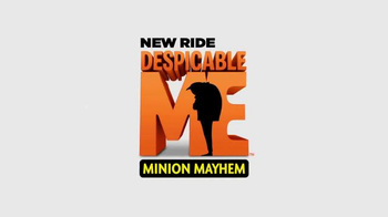 Universal Studios Hollywood Despicable Me Minion Mayhem Ride TV Spot - Thumbnail 9