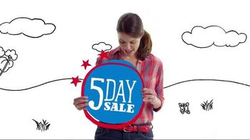 Payless Shoe Source TV Spot, '5 Day Sale'