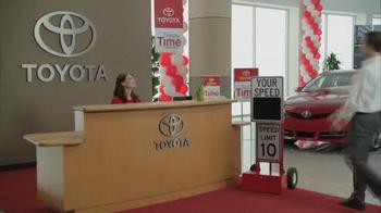 Toyota TV Spot, 'Speedometer' - Thumbnail 1