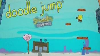Spongebob SquarePants Doodle Jump TV Spot