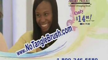 No Tangle Brush TV Spot, 'Not Anymore!' - Thumbnail 9