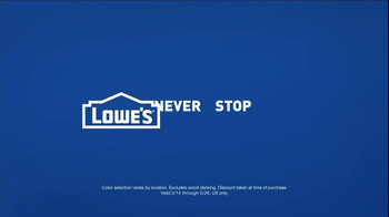 Lowe's TV Spot, 'All Hands on Deck' - Thumbnail 9
