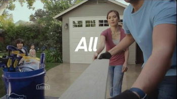 Lowe's TV Spot, 'All Hands on Deck' - Thumbnail 2