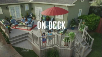 Lowe's TV Spot, 'All Hands on Deck' - Thumbnail 7