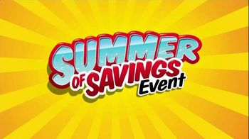 Walmart Summer Savings Event TV Spot - 328 commercial airings