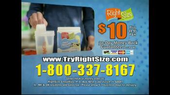 Right Size Health & Nutrition TV Spot, 'Natlie' - Thumbnail 8