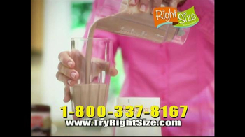 Right Size Health & Nutrition TV Spot, 'Natlie' - Thumbnail 4