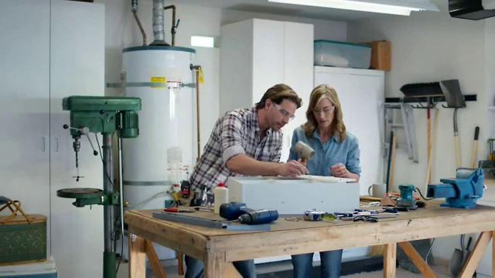 Aflac TV Commercial, 'Duck's DIY Project'