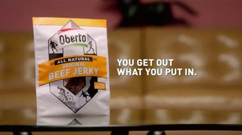 Oberto Beef Jerky TV Spot, 'Little Voice in Your Stomach: Louie Vito' - Thumbnail 10