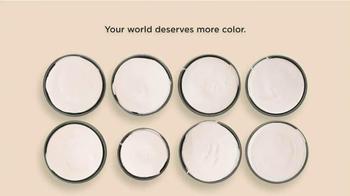 Benjamin Moore TV Spot, 'Your World Deserves More Color' - Thumbnail 2