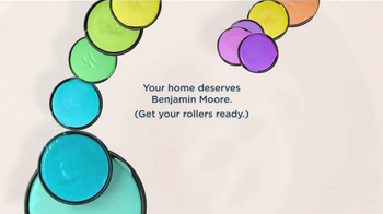 Benjamin Moore TV Spot, 'Your World Deserves More Color'
