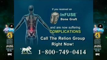 Relion Group TV Spot, \'Bone Graft\'