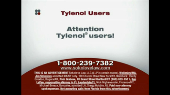 Sokolove Law TV Spot, 'Tylenol' - Thumbnail 1