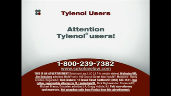 Sokolove Law TV Spot, 'Tylenol' - Thumbnail 2