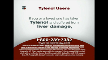 Sokolove Law TV Spot, 'Tylenol' - Thumbnail 8