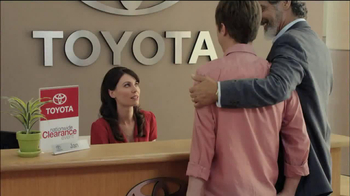 Toyota Nationwide Clearance TV Spot, 'Son-in-Law' - Thumbnail 6