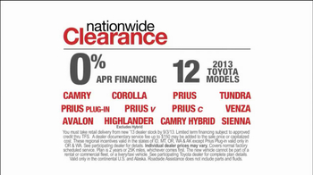 Toyota Nationwide Clearance TV Spot, 'Son-in-Law' - Thumbnail 8