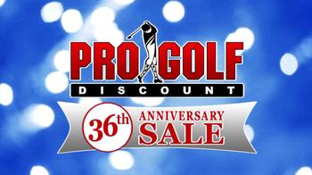Pro Golf Discount 36th Anniversary Sale TV Spot - Thumbnail 1